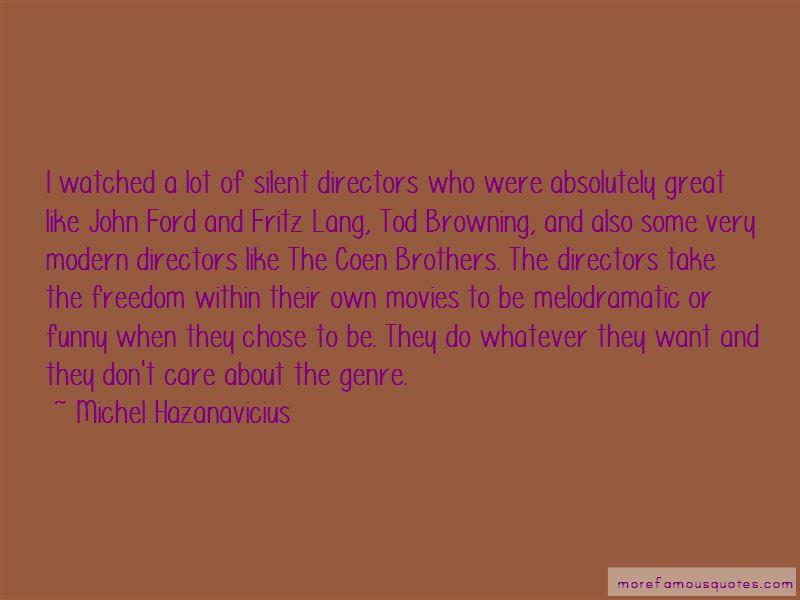 Michel Hazanavicius Quotes Pictures 2
