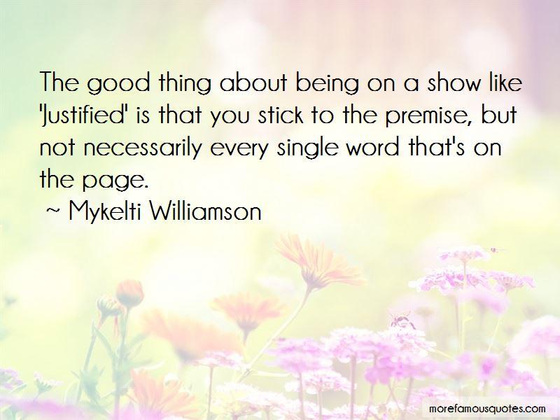 Mykelti Williamson Quotes Pictures 4