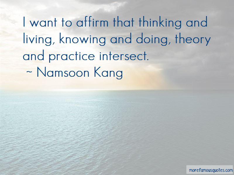 Namsoon Kang Quotes