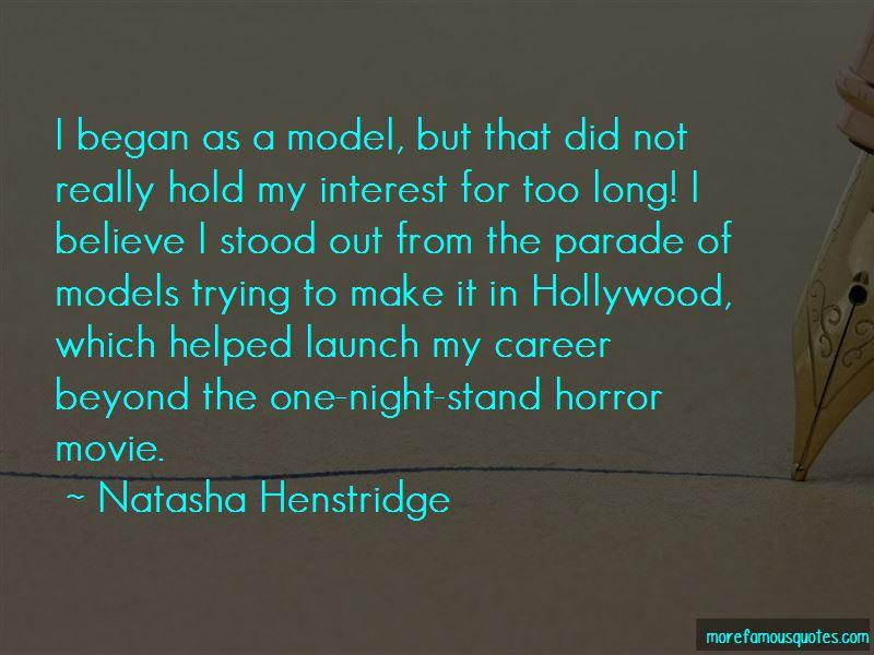 Natasha Henstridge Quotes Pictures 2