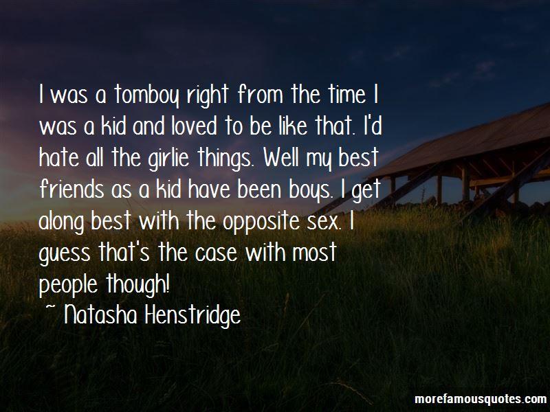 Natasha Henstridge Quotes Pictures 3