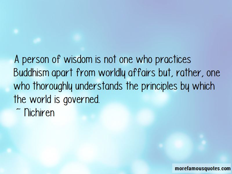 Nichiren Quotes
