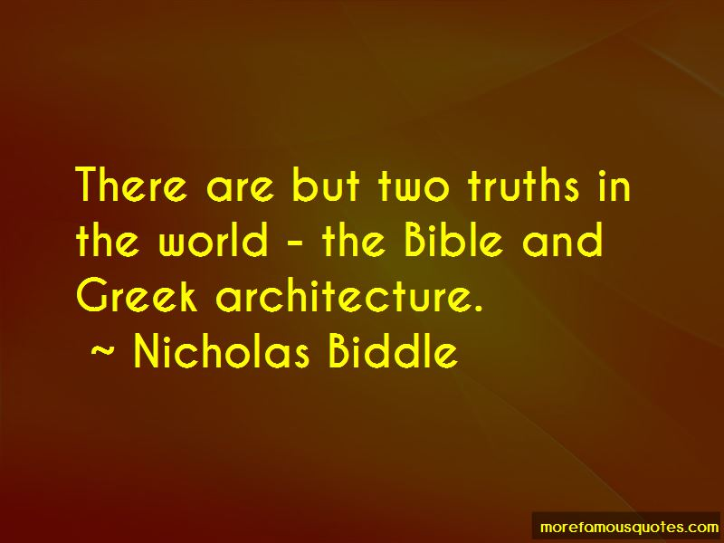 Nicholas Biddle Quotes