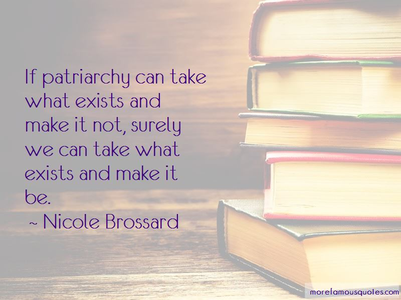 Nicole Brossard Quotes Pictures 3