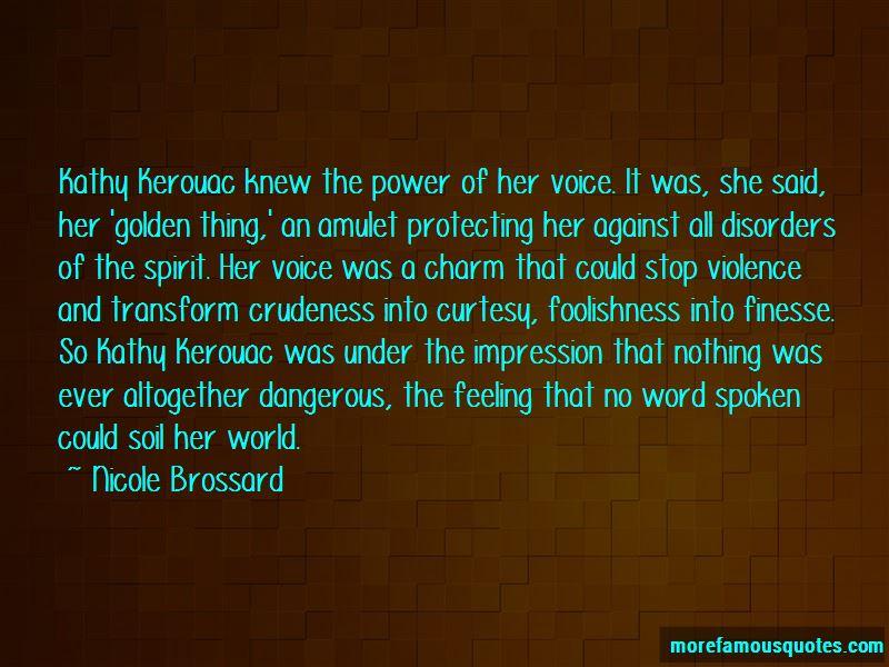Nicole Brossard Quotes Pictures 4