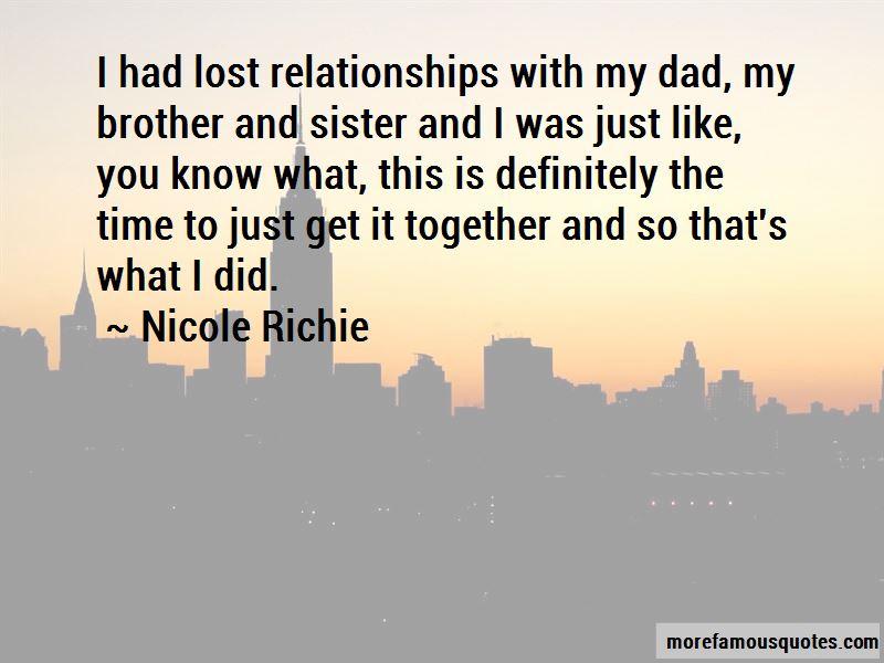 Nicole Richie Quotes