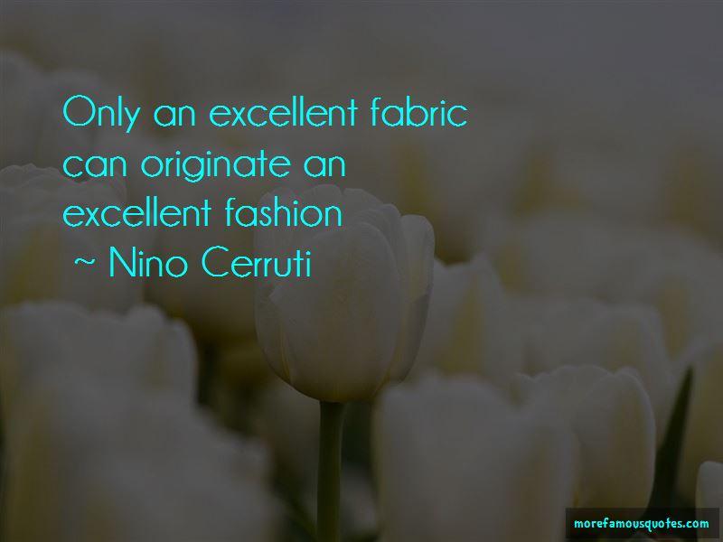 Nino Cerruti Quotes