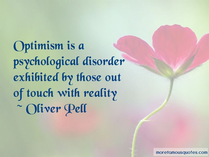Oliver Pell Quotes
