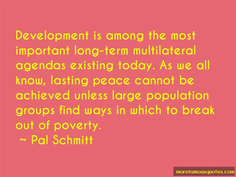 Pal Schmitt Quotes