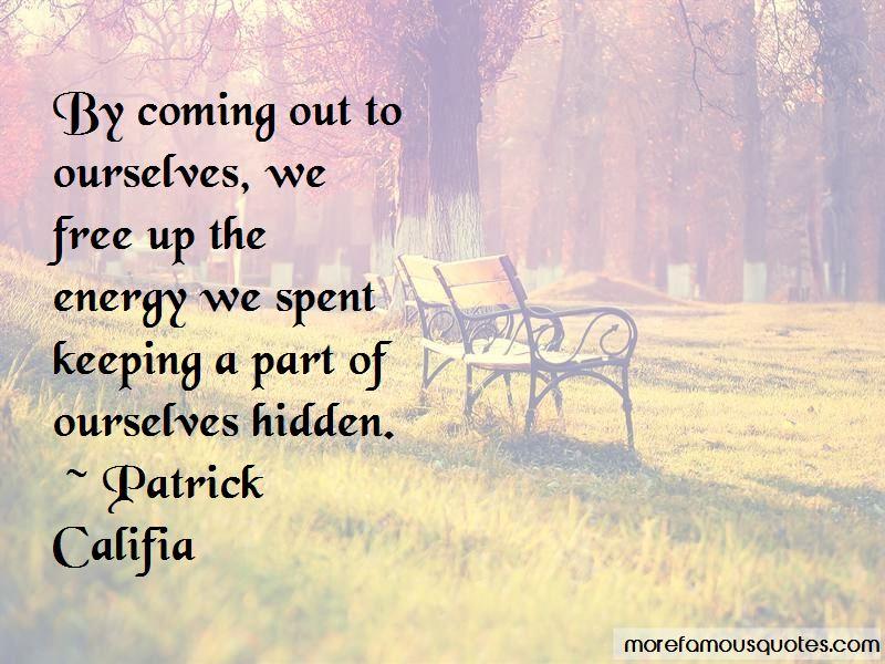 Patrick Califia Quotes Pictures 2