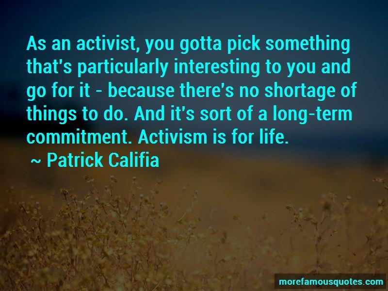 Patrick Califia Quotes