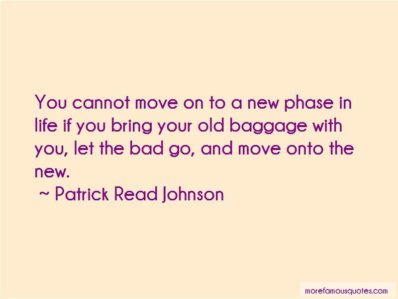 Patrick Read Johnson Quotes