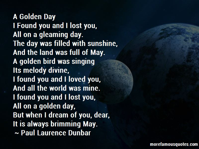 Paul Laurence Dunbar Quotes Pictures 3