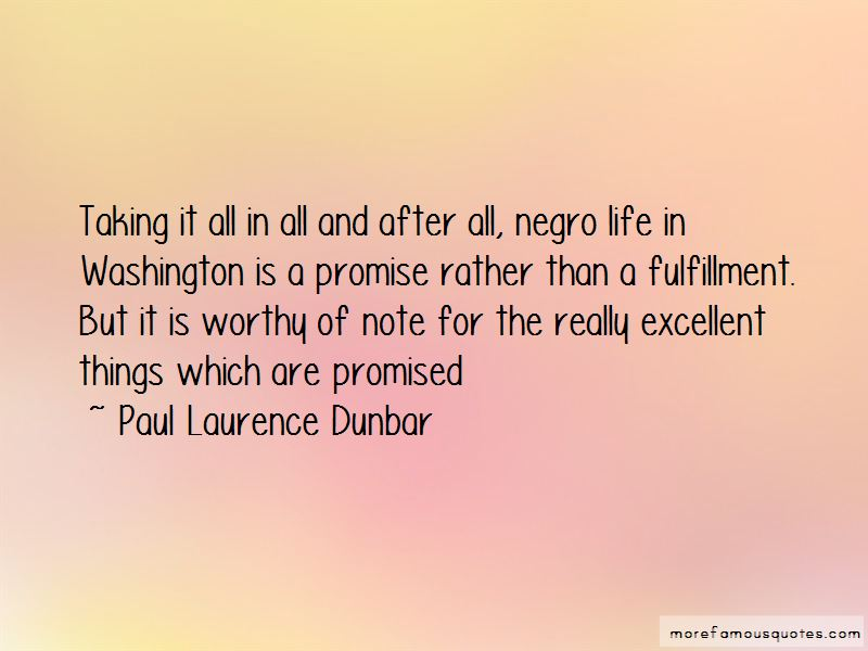 Paul Laurence Dunbar Quotes Pictures 4