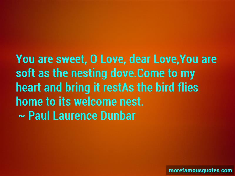 Paul Laurence Dunbar Quotes