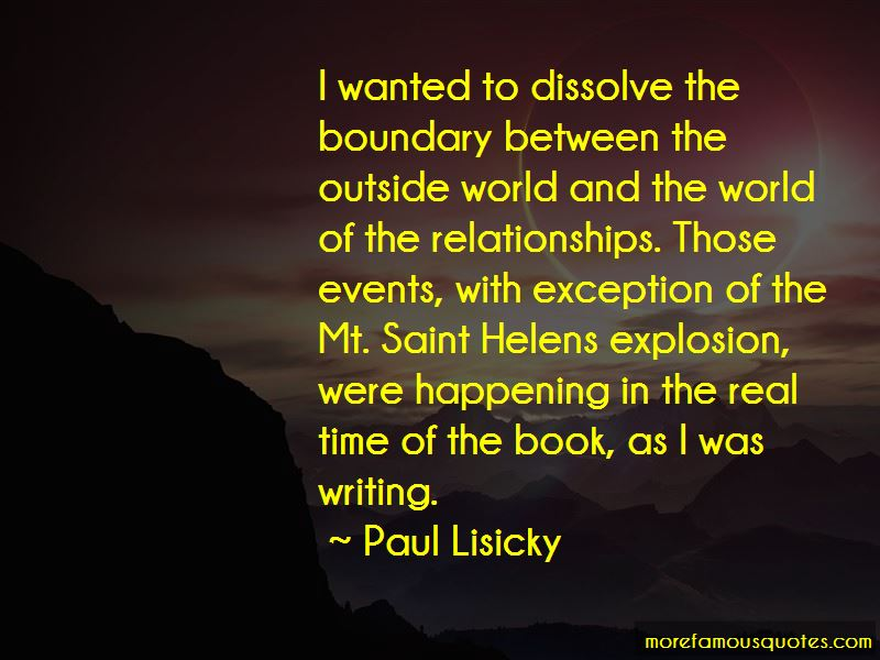 Paul Lisicky Quotes