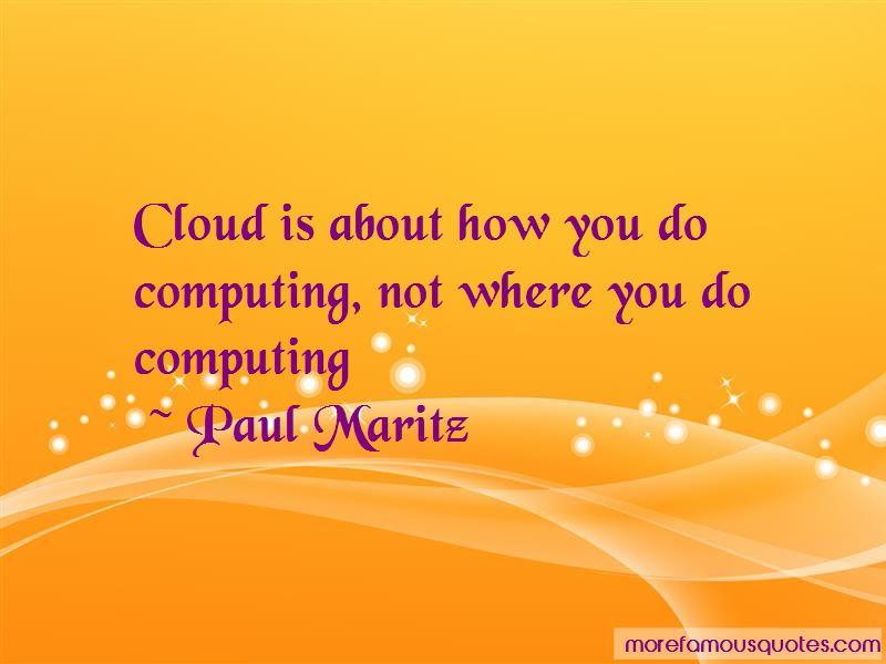 Paul Maritz Quotes Pictures 2