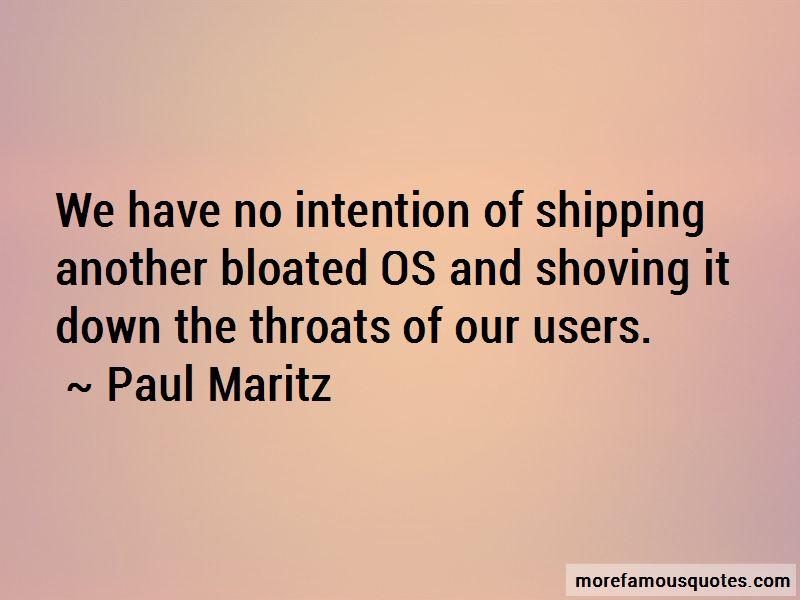 Paul Maritz Quotes