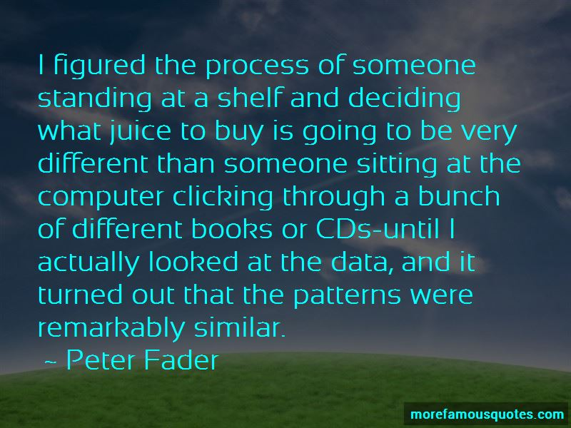 Peter Fader Quotes