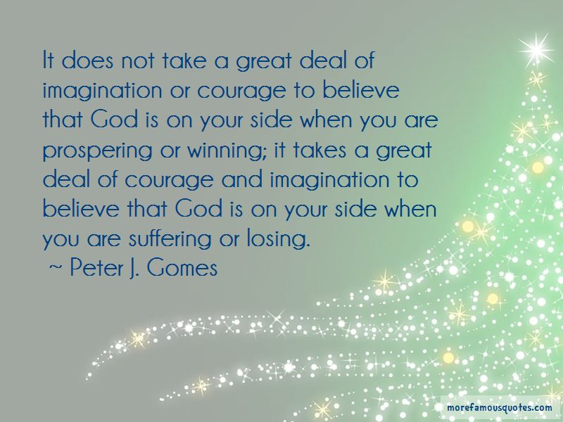 Peter J. Gomes Quotes Pictures 4