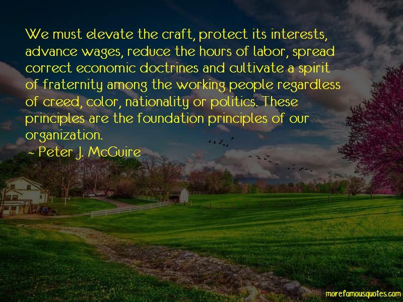 Peter J. McGuire Quotes