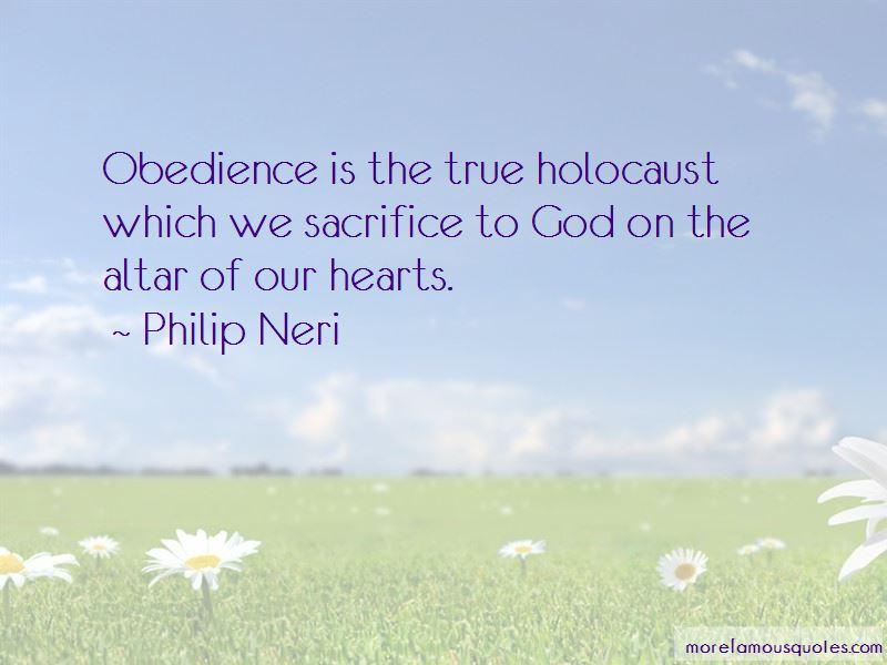 Philip Neri Quotes