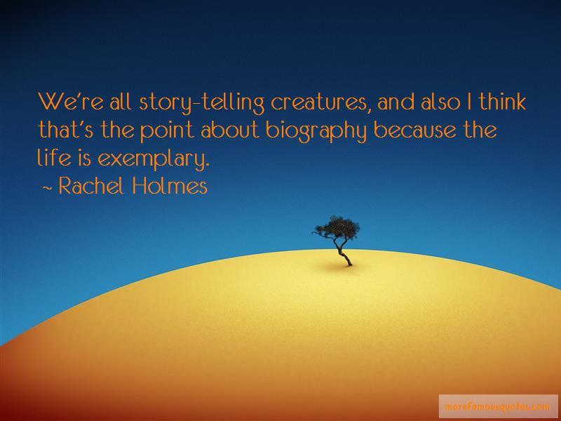 Rachel Holmes Quotes Pictures 3