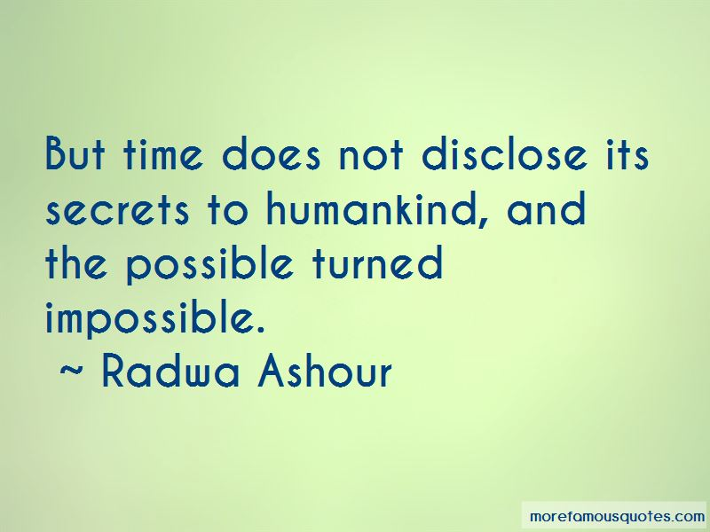 Radwa Ashour Quotes