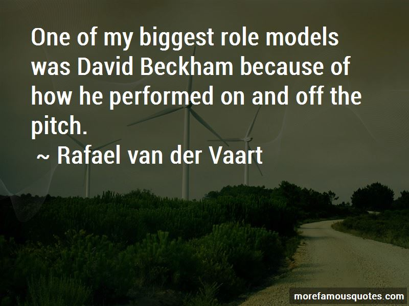 Rafael Van Der Vaart Quotes Pictures 3