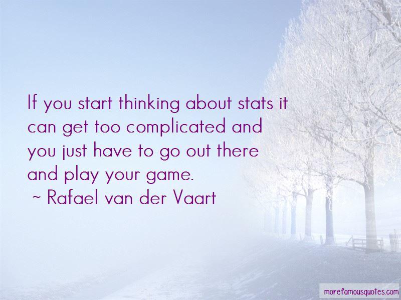 Rafael Van Der Vaart Quotes Pictures 4