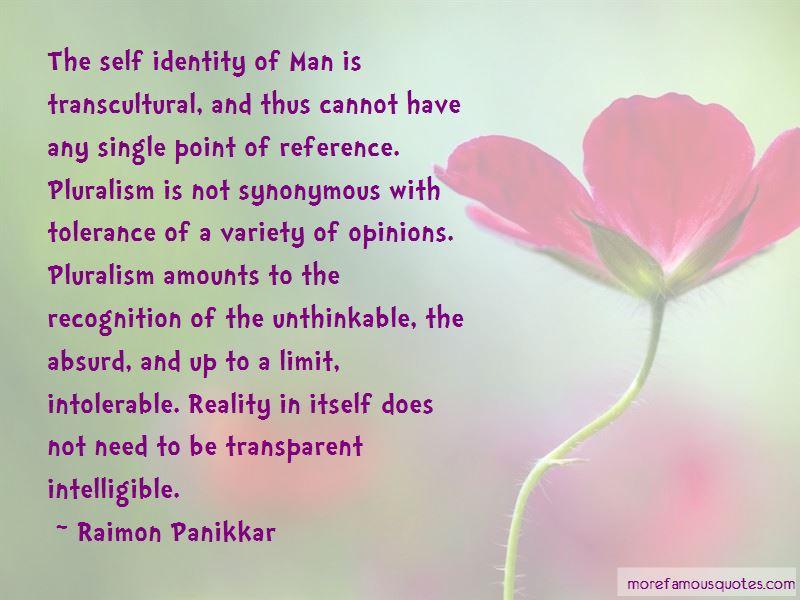 Raimon Panikkar Quotes Pictures 3