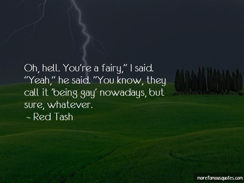 Red Tash Quotes Pictures 2