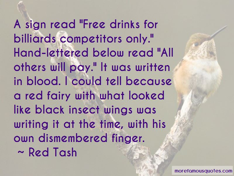Red Tash Quotes Pictures 3