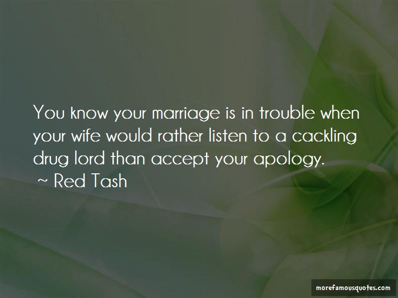 Red Tash Quotes
