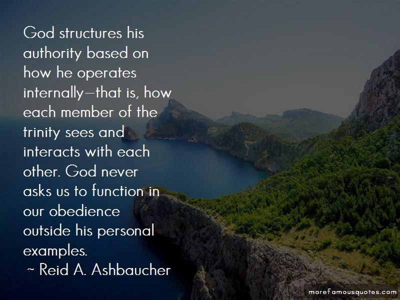 Reid A. Ashbaucher Quotes
