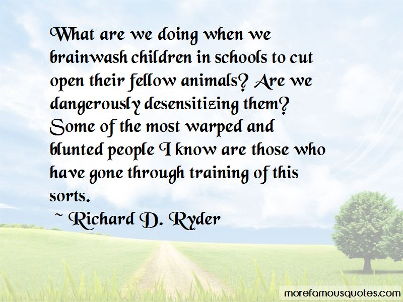 Richard D. Ryder Quotes Pictures 2