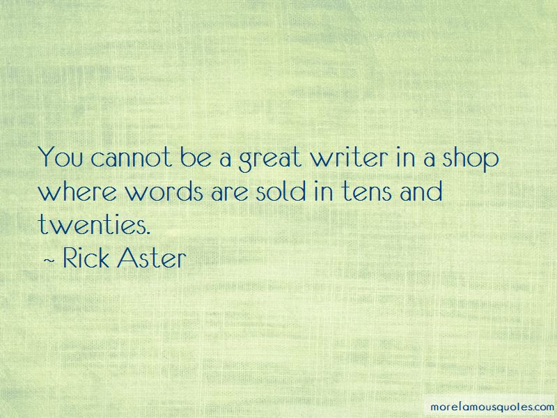 Rick Aster Quotes Pictures 2