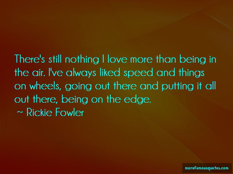 Rickie Fowler Quotes