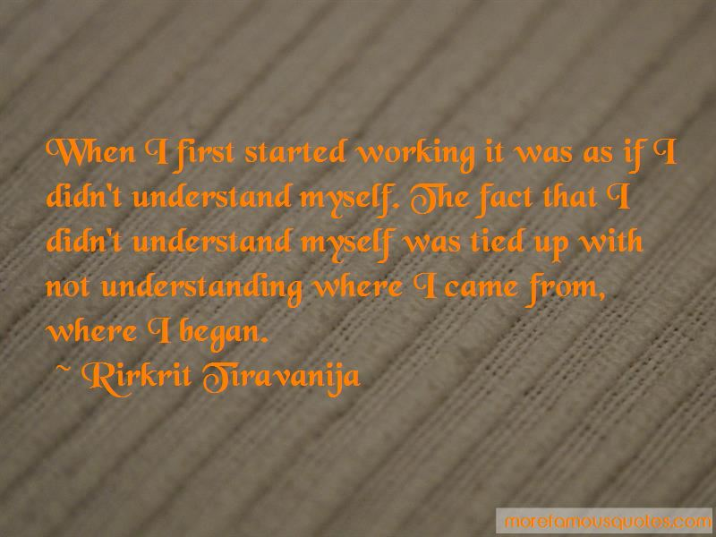 Rirkrit Tiravanija Quotes Pictures 4