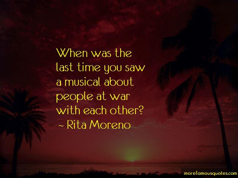 Rita Moreno Quotes