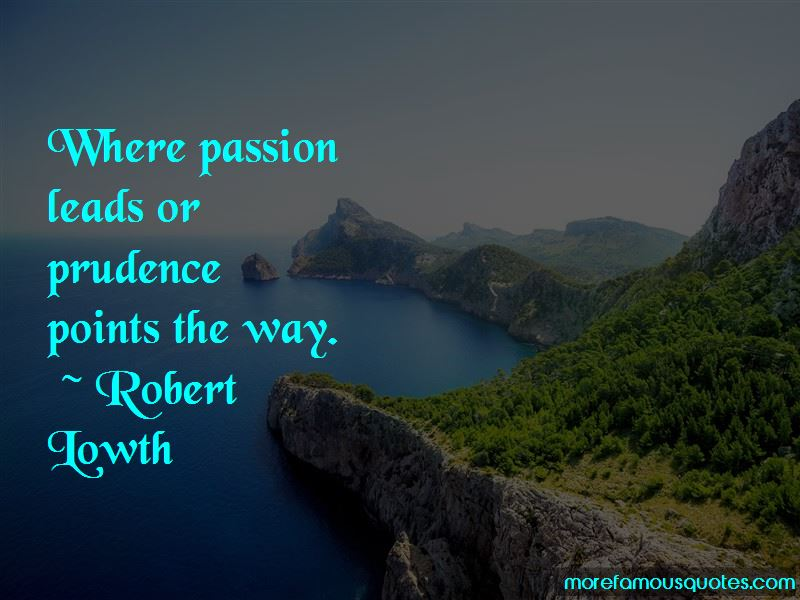 Robert Lowth Quotes Pictures 2
