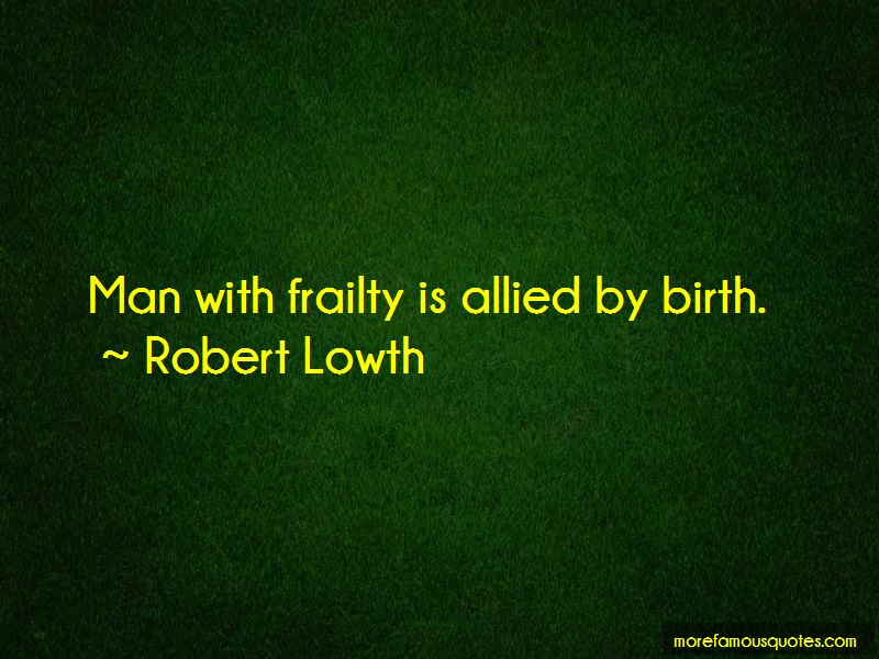 Robert Lowth Quotes Pictures 3