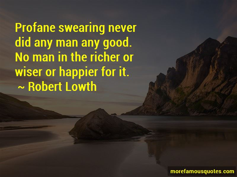 Robert Lowth Quotes