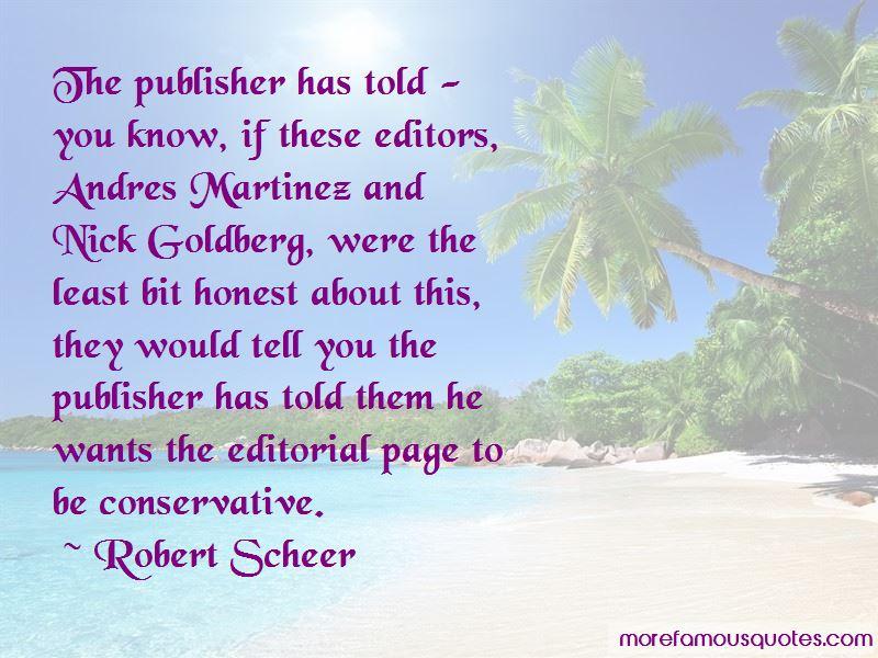 Robert Scheer Quotes Pictures 2