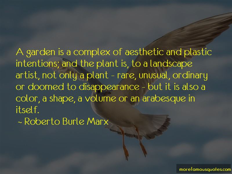 Roberto Burle Marx Quotes Pictures 3