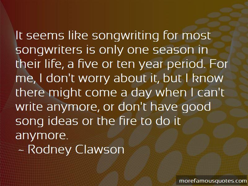 Rodney Clawson Quotes