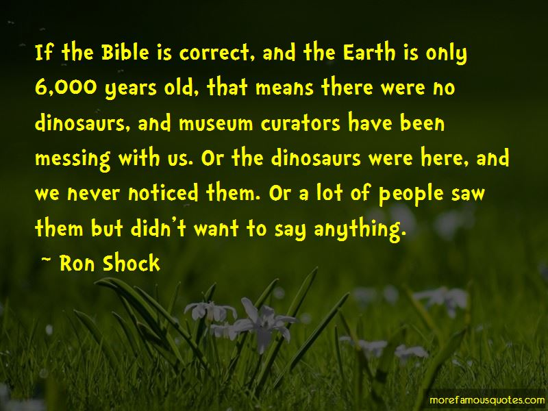 Ron Shock Quotes Pictures 4