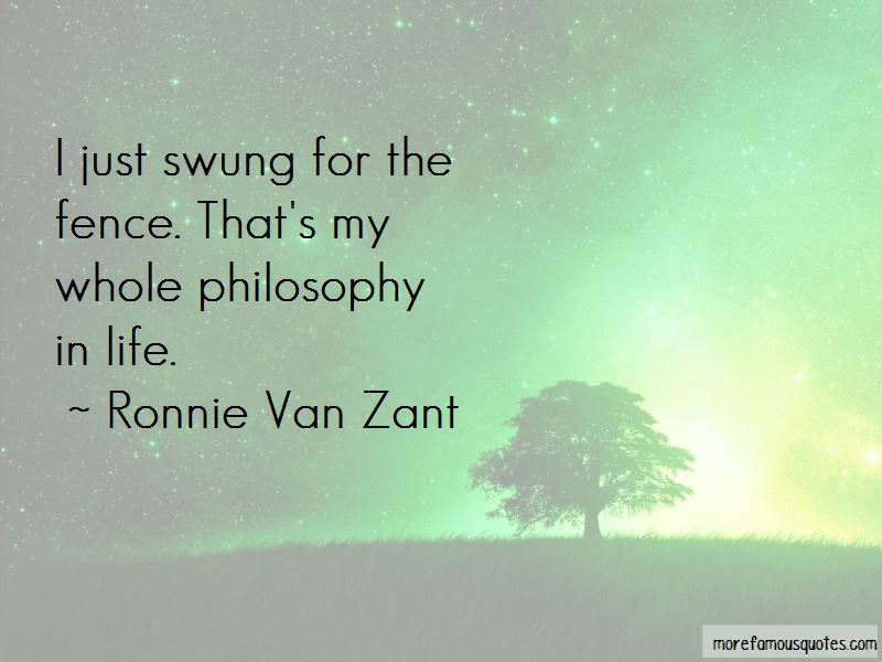 Ronnie Van Zant Quotes Top 60 Famous Quotes By Ronnie Van Zant Best Ronnie Van Zant Quotes