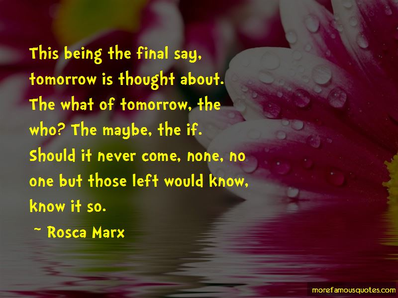 Rosca Marx Quotes Pictures 2