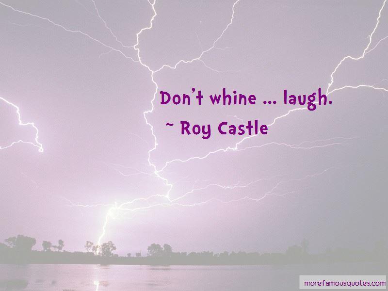 Roy Castle Quotes